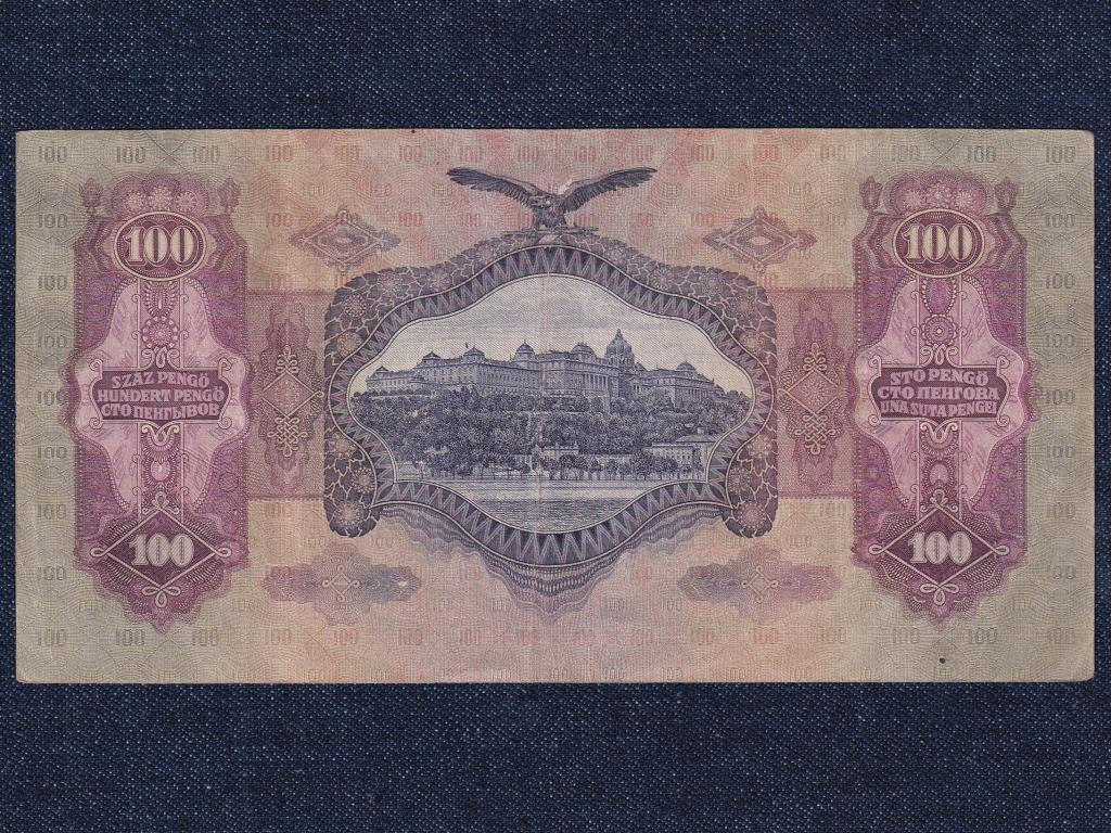 Második sorozat (1927-1932) a legnagyobb magyar Széchelyi István 100 Pengő bankjegy