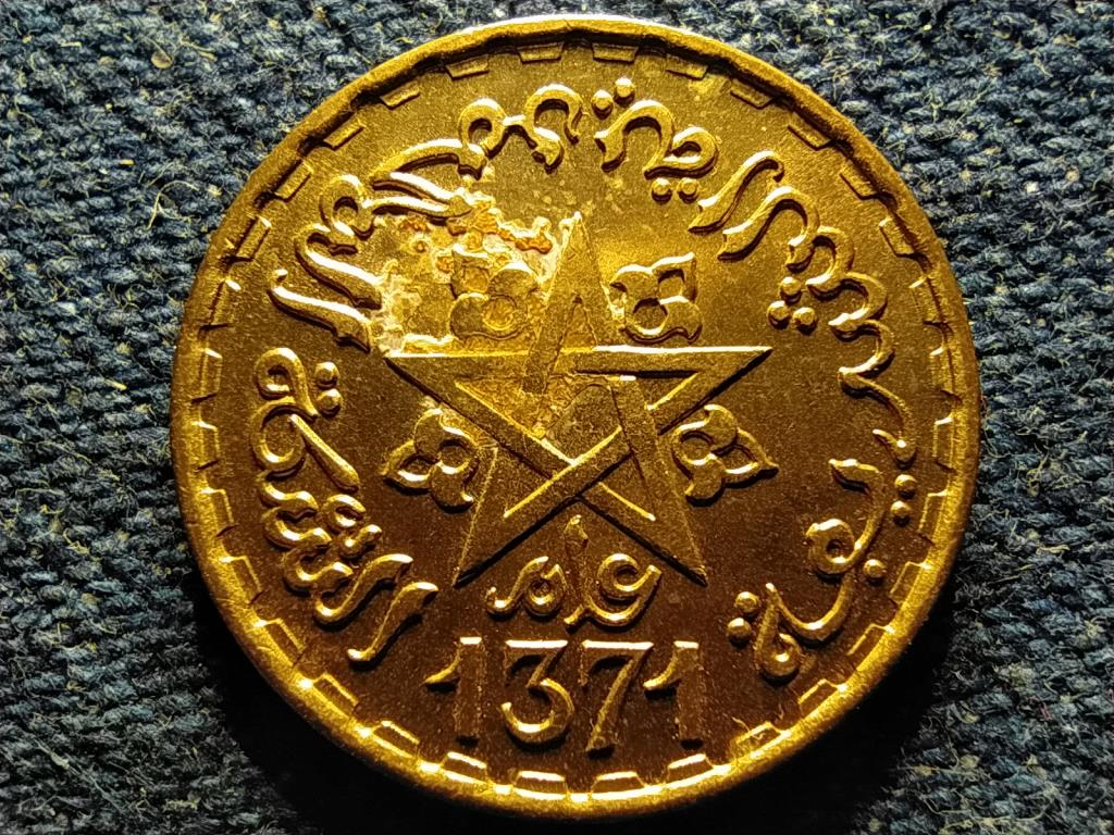 Marokkó V. Mohammed (1927-1961) 10 frank