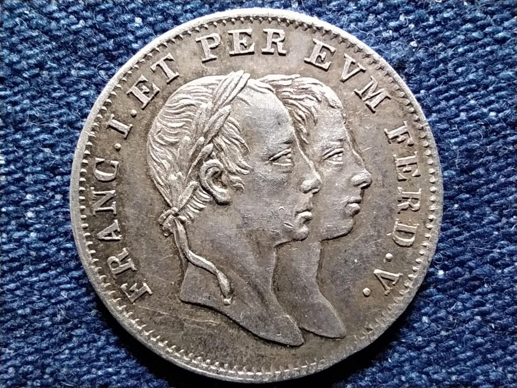 V. Ferdinánd ezüst koronázási zseton 1830 (20 mm átmérő változat)