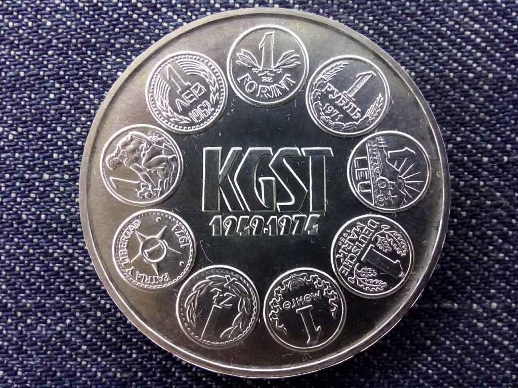 A KGST meglalkulásának 25. évfordulója ezüst 100 Forint 1974 BP BU