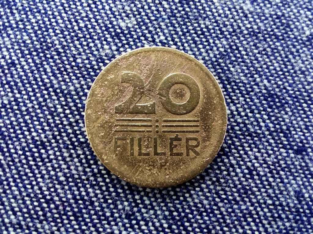 Magyar Állami Váltópénz 20 fillér 1946 BP BU