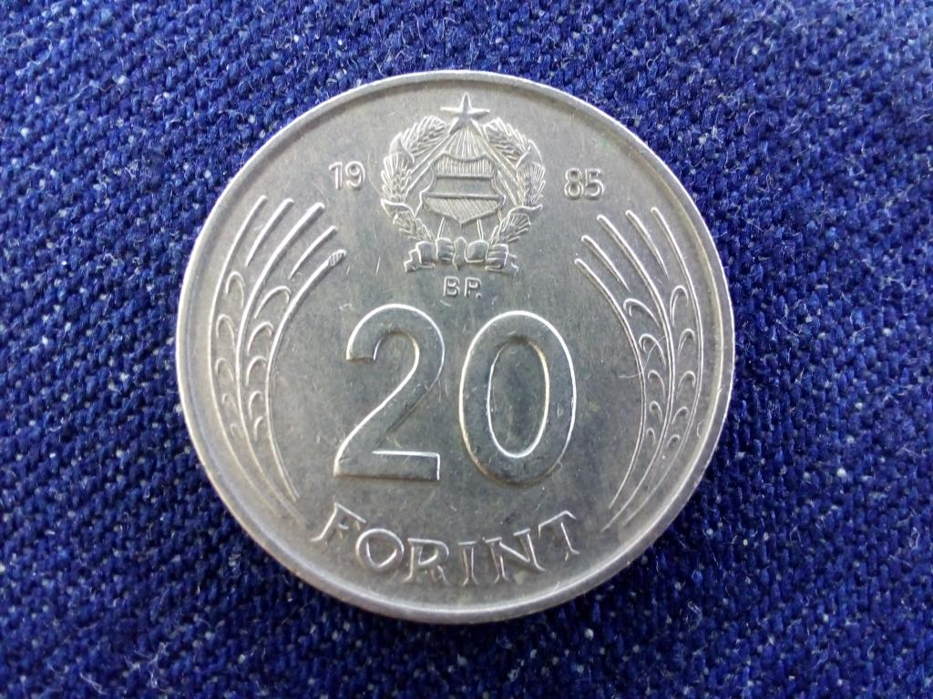 Népköztársaság (1949-1989) 20 Forint 1985 BP BU