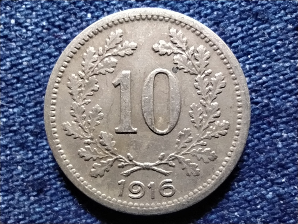Ausztria 10 heller 1916
