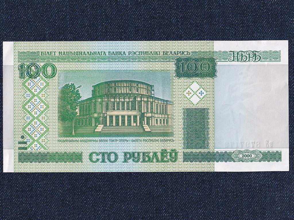 Fehéroroszország 100 Rubel bankjegy 2000