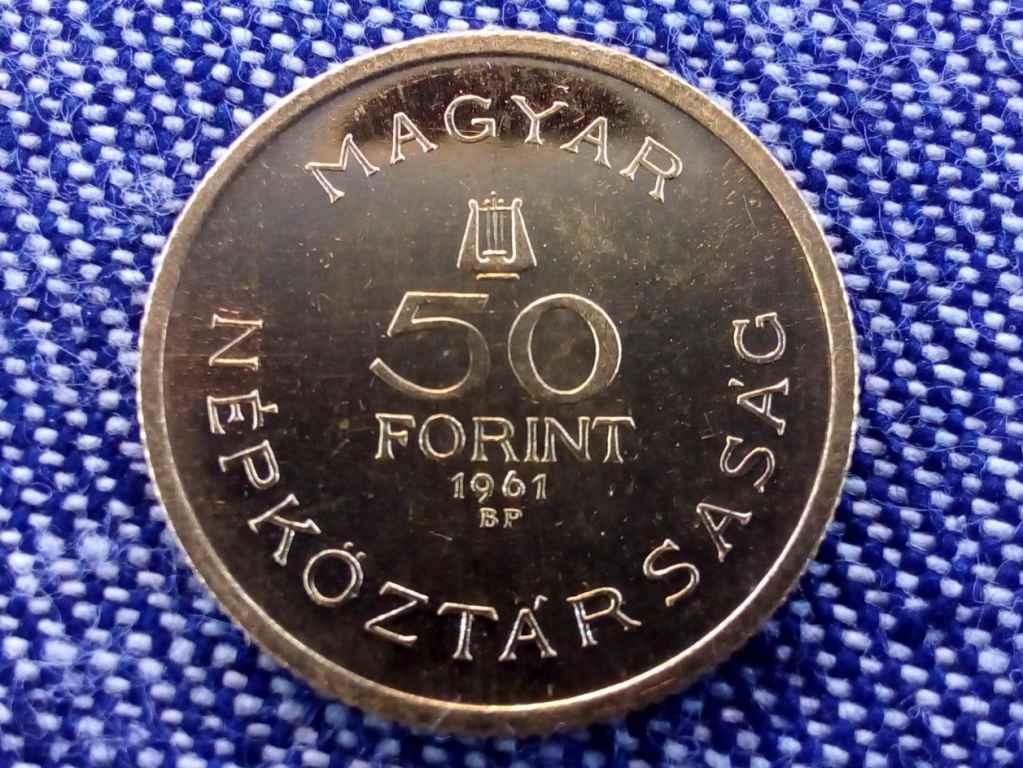 Bartók Béla emlékév arany 50 és 100 forint 1961 párban