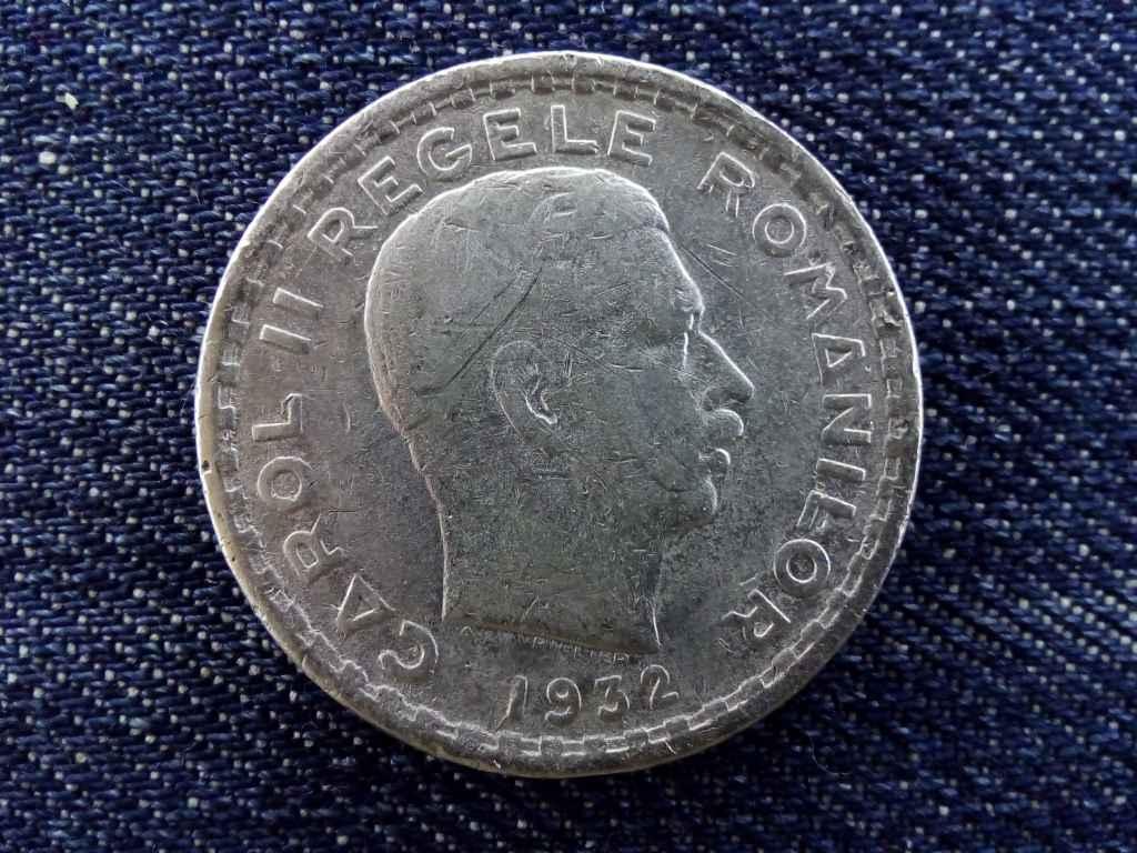 Románia II. Károly (1930-1940) .500 ezüst 100 Lej 1932