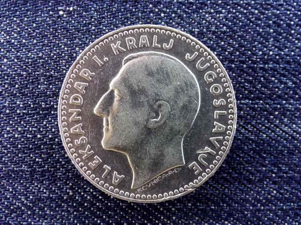 Jugoszlávia I. Sándor (1921-1934) .500 ezüst szép 20 Dínár 1931