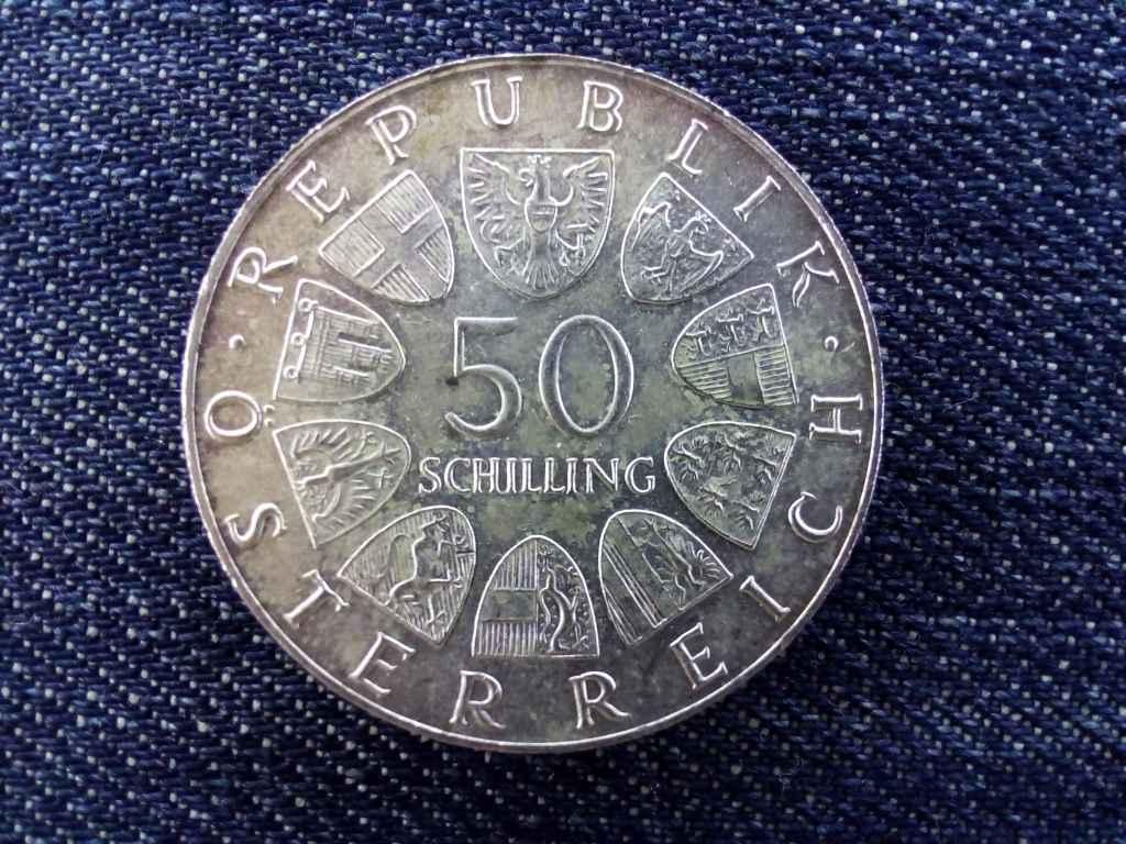 Ausztria A Bummerl Ház 500. évfordulója .900 ezüst 50 Schilling 1973