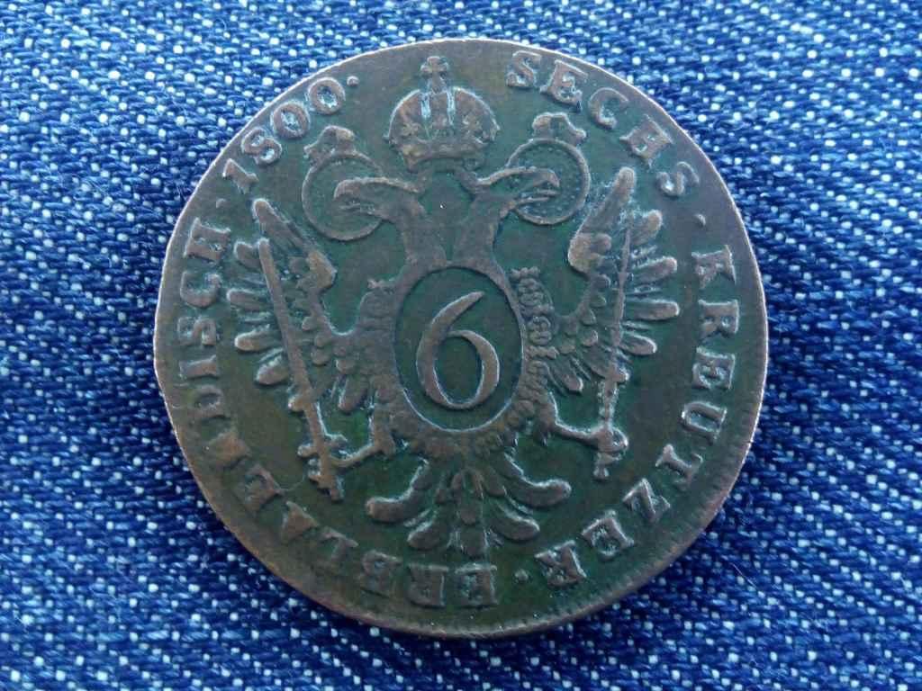 I. Ferenc 6 krajcár 1800 B