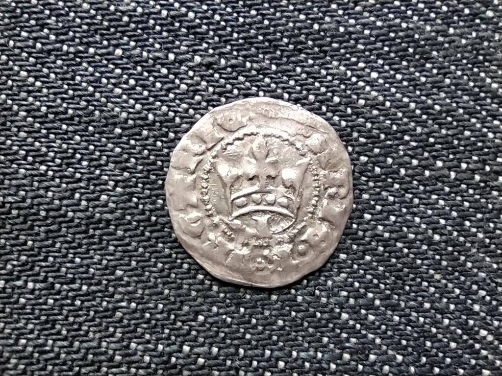 I. Mária (1382-1385) ezüst 1 Dénár 1384 ÉH 443