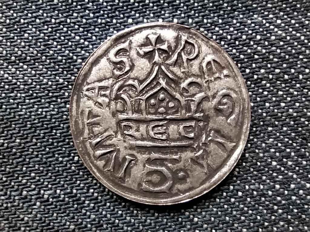 Szt. István első ezüst denárának színesfém utánzata