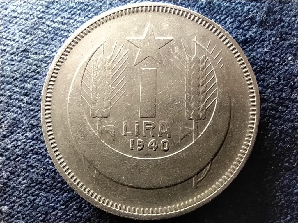 Törökország ritka .833 ezüst 1 Líra 1940