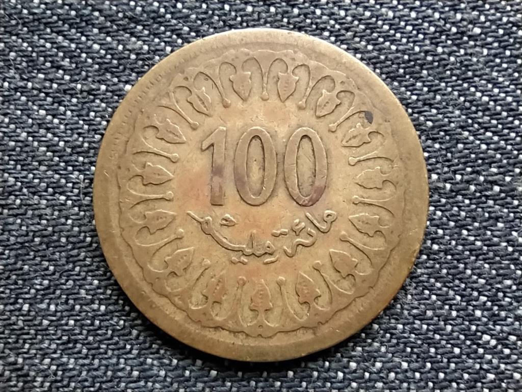 Tunézia 100 milliéme 1380 1960