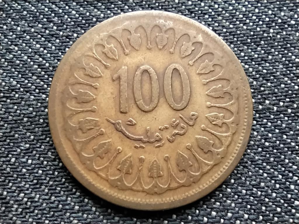 Tunézia 100 milliéme kis dátum 1403 1983