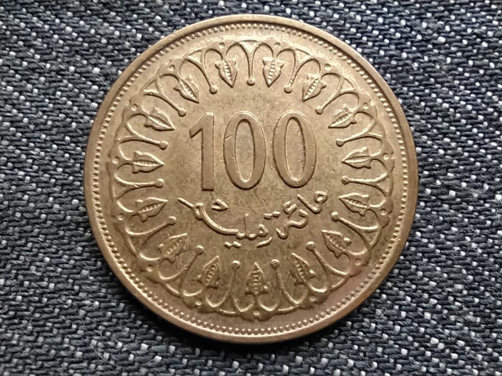 Tunézia szép 100 milliéme 1414 1993