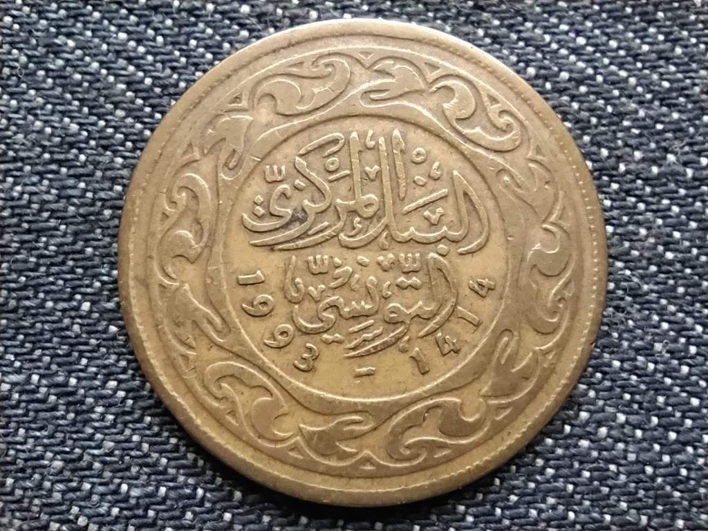 Tunézia 100 milliéme 1414 1993