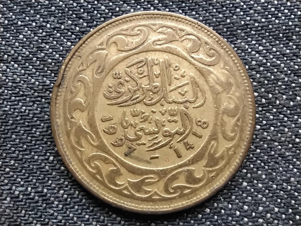 Tunézia 100 milliéme 1418 1997