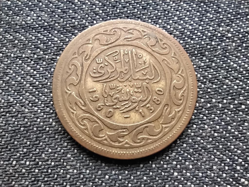 Tunézia 50 milliéme 1380 1960
