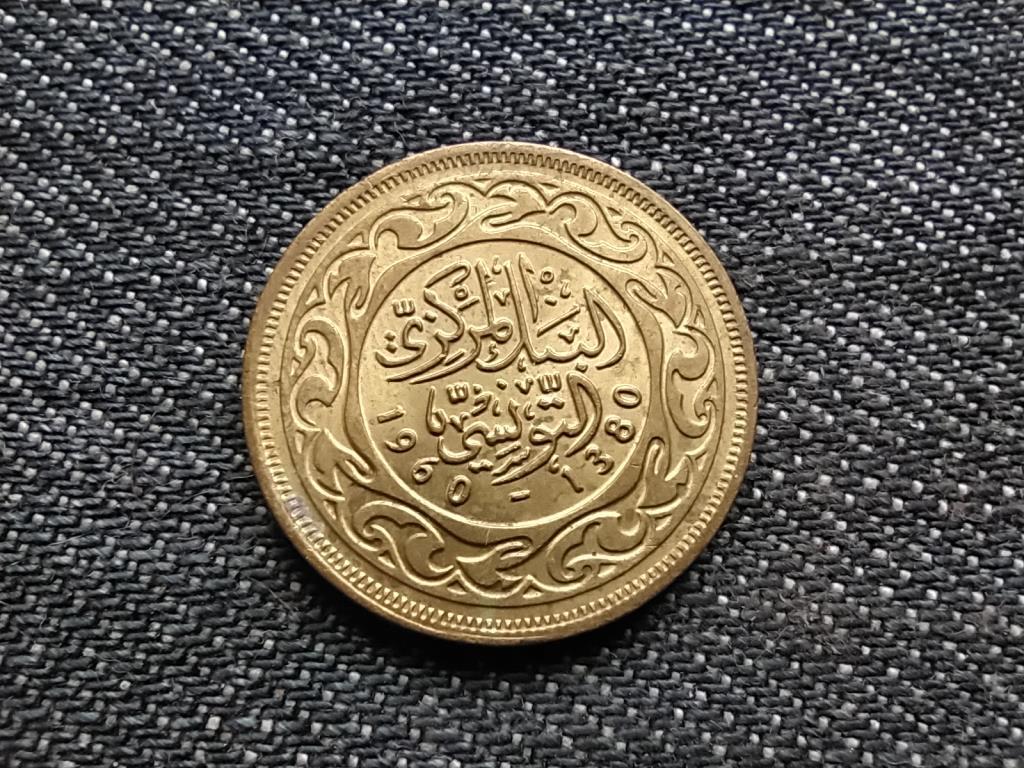 Tunézia extra szép 20 milliéme 1380 1960
