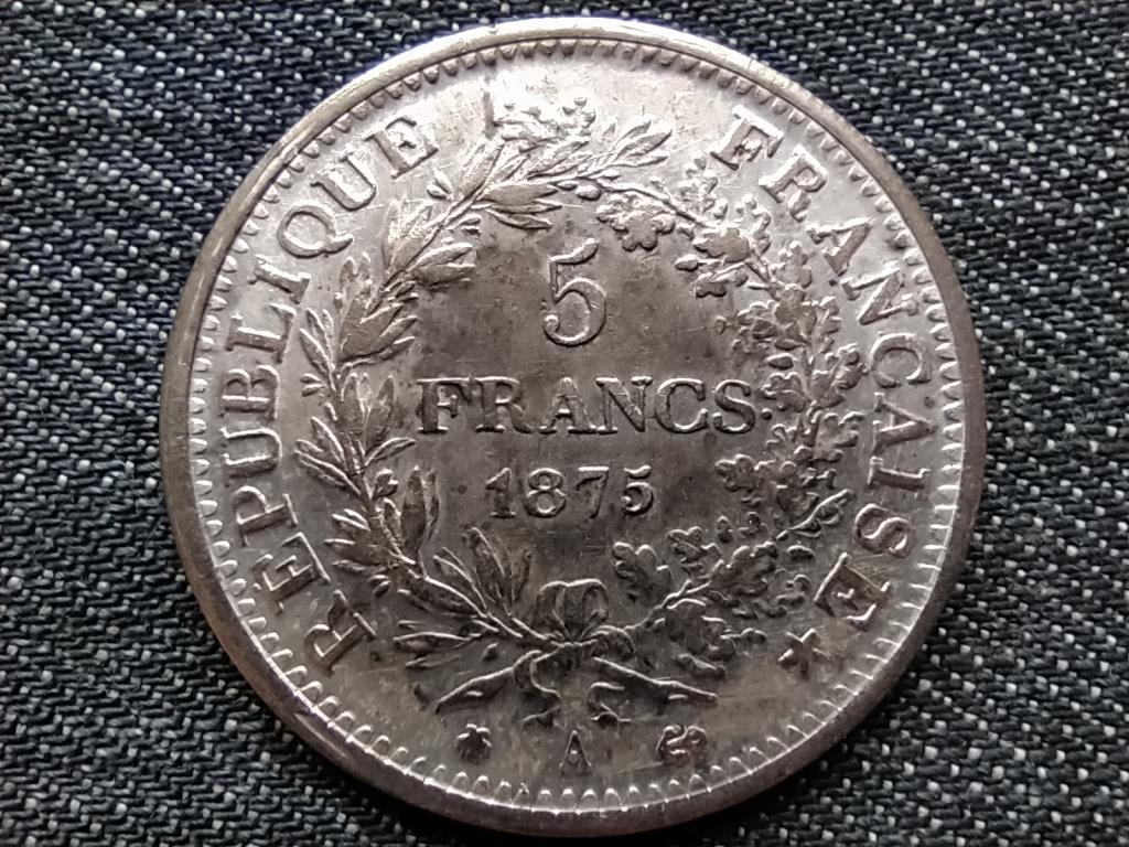 Franciaország 5 Frank 1875 A érme másolat