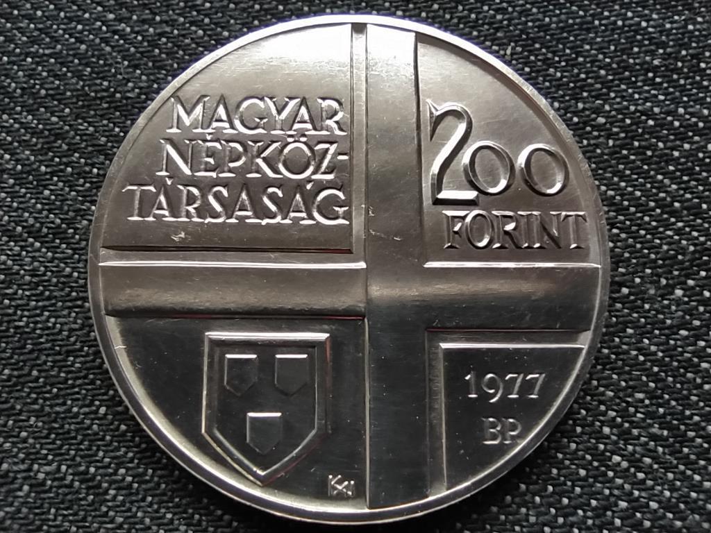 Csontváry Kosztka Tivadar .640 ezüst 200 Forint 1977 BP BU