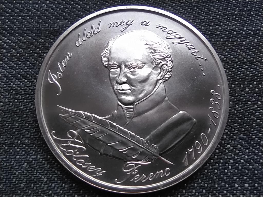 Kölcsey Ferenc születésének 200. évfordulója .900 ezüst 500 Forint 1990 BP BU