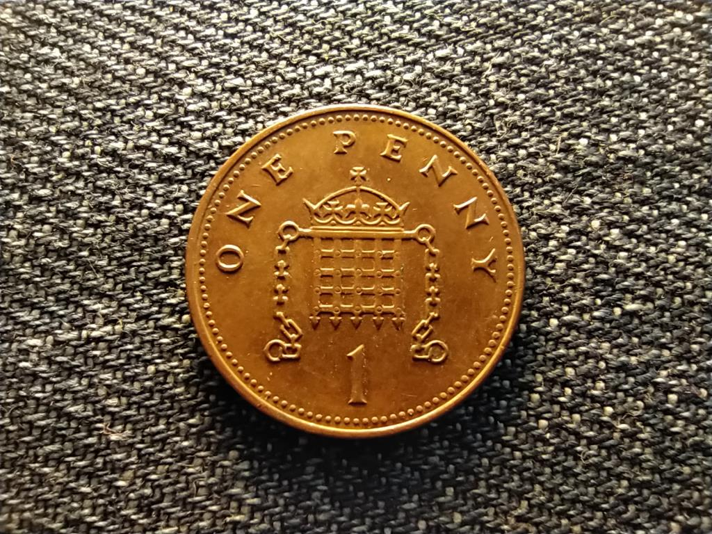 Anglia II. Erzsébet (1952-) 1 Penny 2002