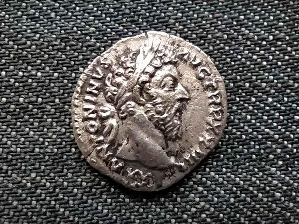 Római Birodalom Marcus Aurelius (161-180) ezüst Dénár SALVTI AVG COS III