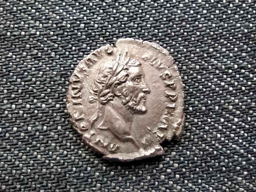 Antoninus Pius ezüst dénár RITKA elő és hátlap kombináció