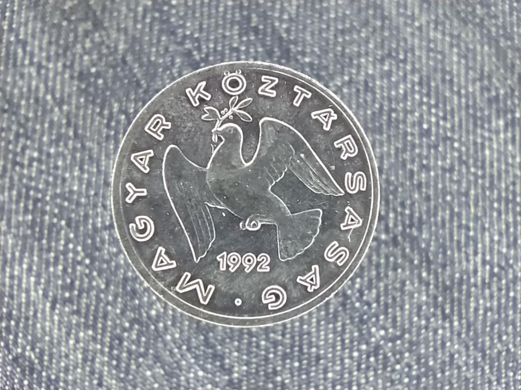 Harmadik Köztársaság (1989-napjainkig) 10 fillér 1992 BP