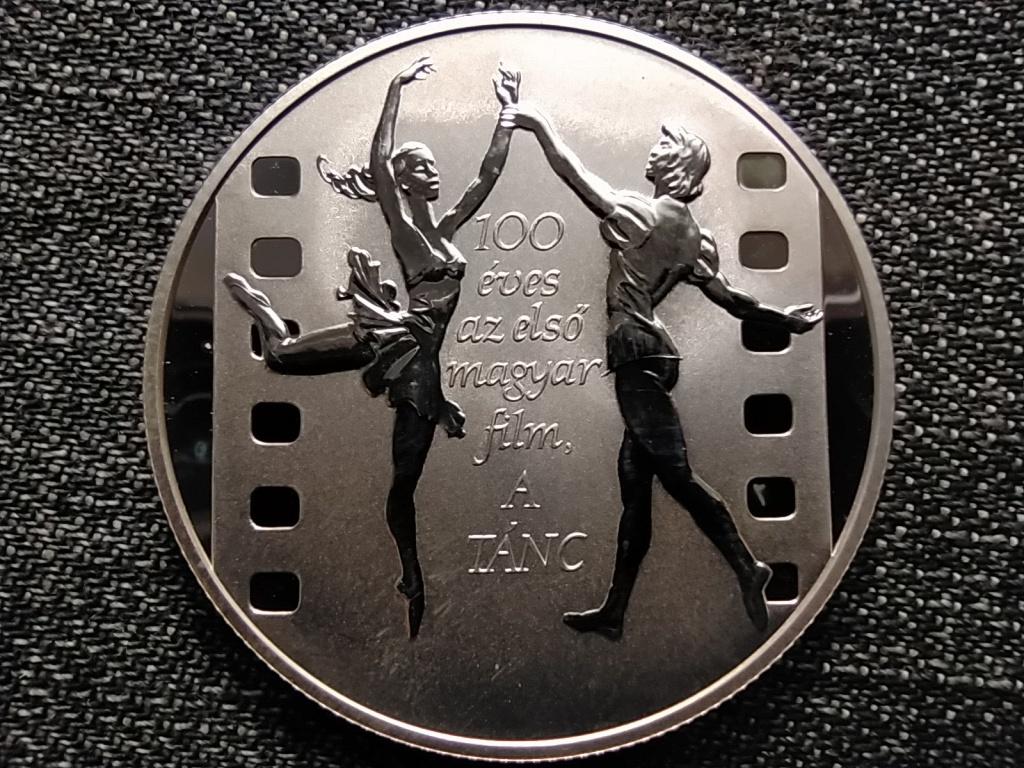 100 éves az első magyar film A tánc .925 ezüst 3000 Forint 2001 BP PP