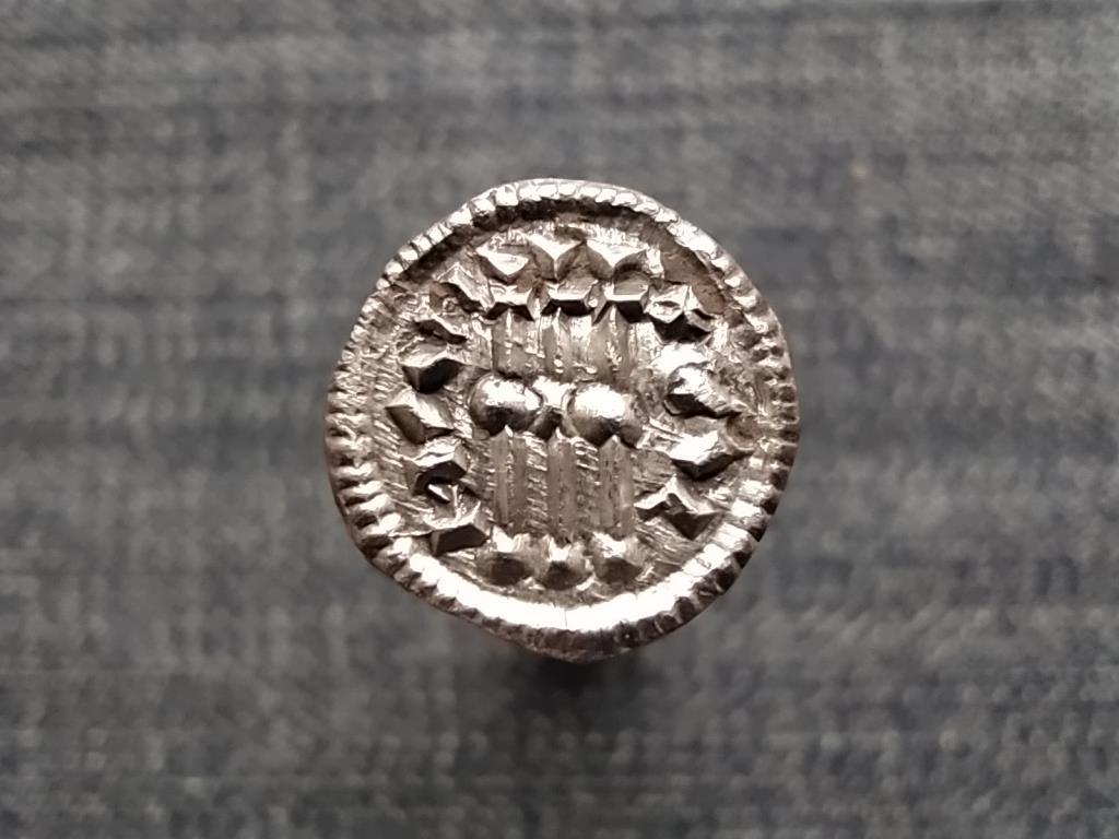 Könyves Kálmán (1095-1116) ezüst 1 Dénár ÉH30