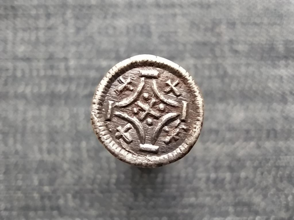 III. (Nagy) Béla (1172-1196) ezüst Dénár ÉH95