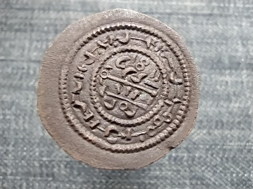 III. (Nagy) Béla (1172-1196) kufikus rézdénár ÉH115
