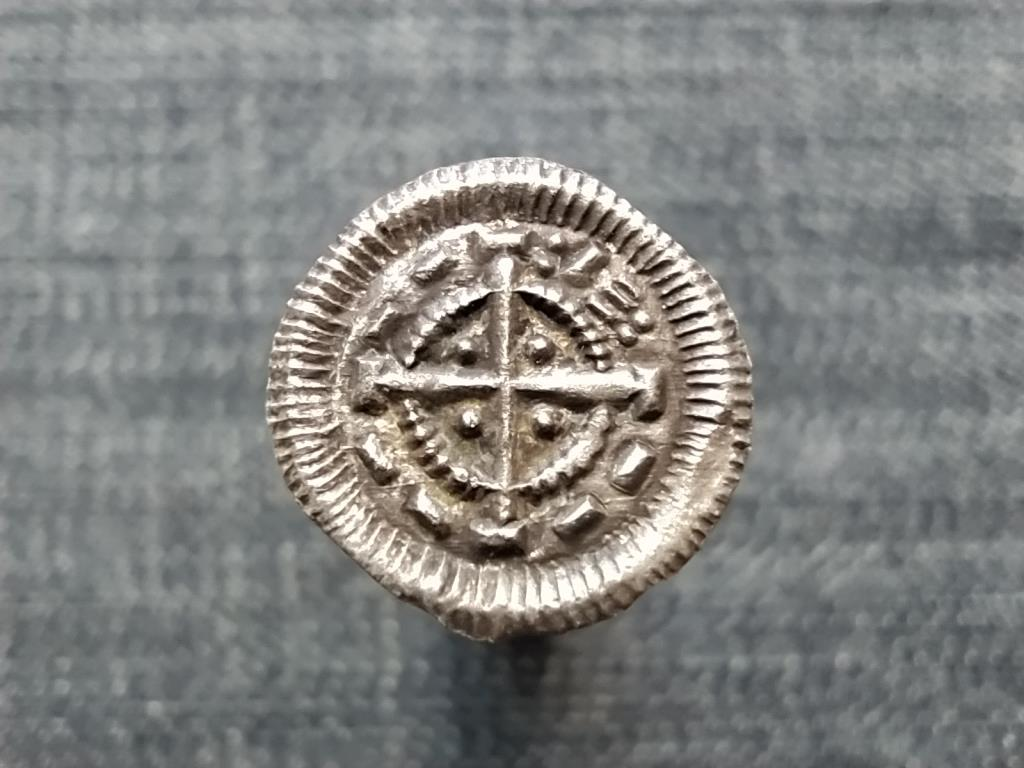 II. (Vak) Béla (1131-1141) ezüst Dénár ÉH53