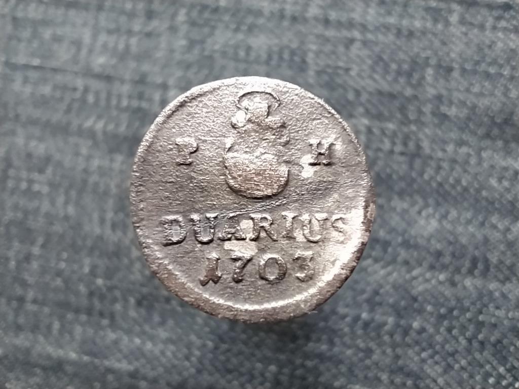 I. Lipót (1657-1705) ezüst 1 duarius 1703