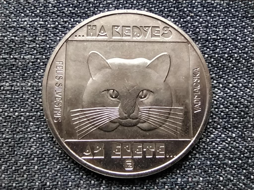 Vadmacska 100 Forint 1985 BP BU