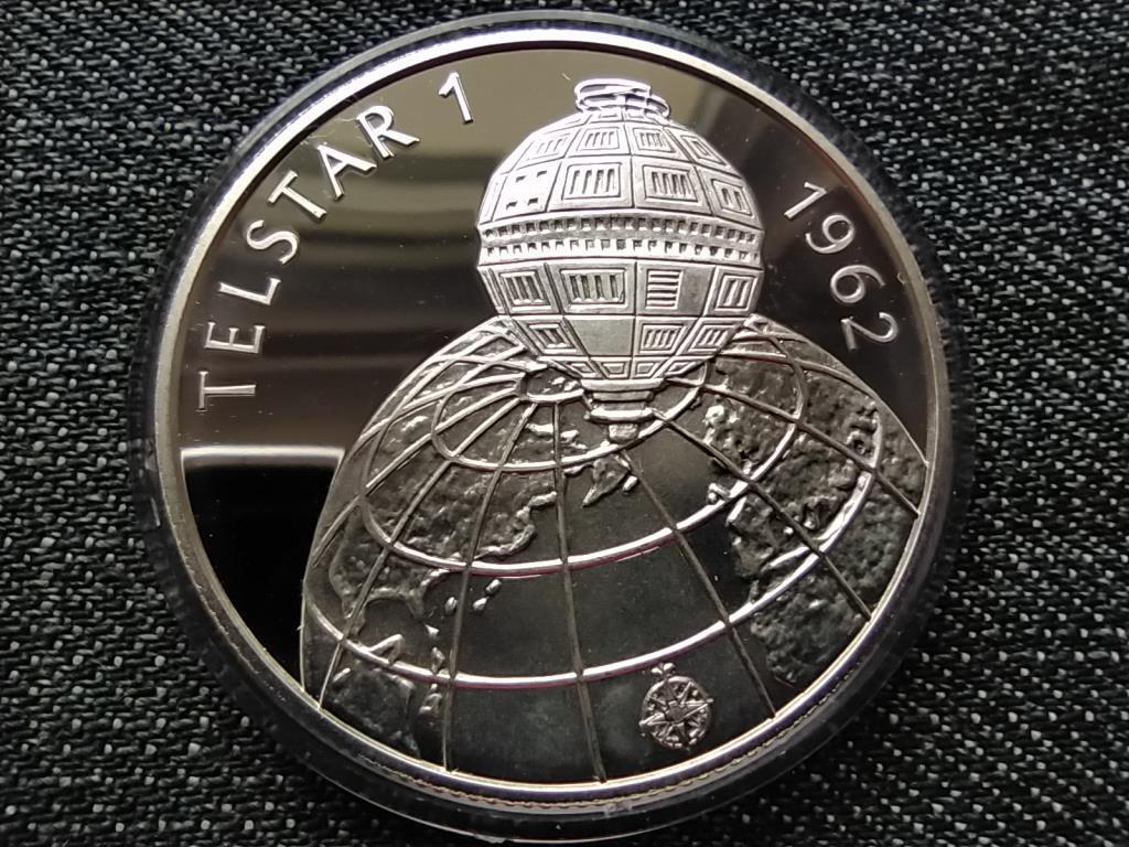 TELSTAR 1 1962 ezüst 500 Forint 1992 BP PP
