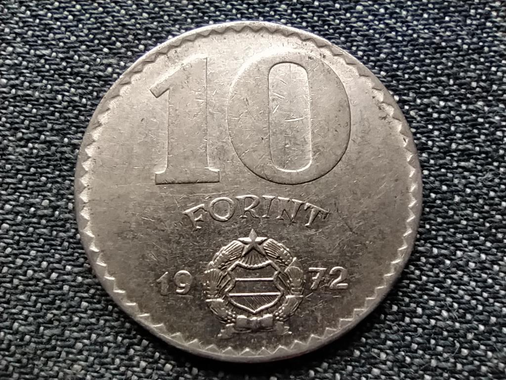 Népköztársaság (1949-1989) 10 Forint 1972 BP BU