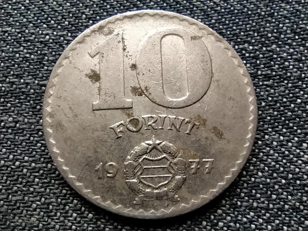 Népköztársaság (1949-1989) 10 Forint 1977 BP BU