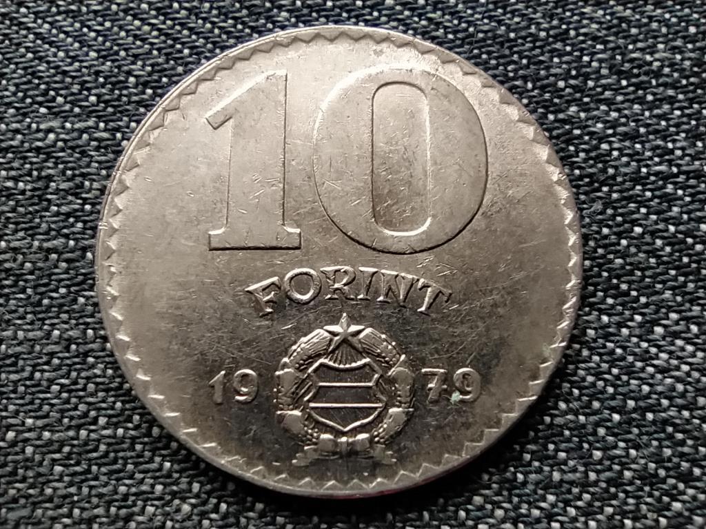 Népköztársaság (1949-1989) 10 Forint 1979 BP BU