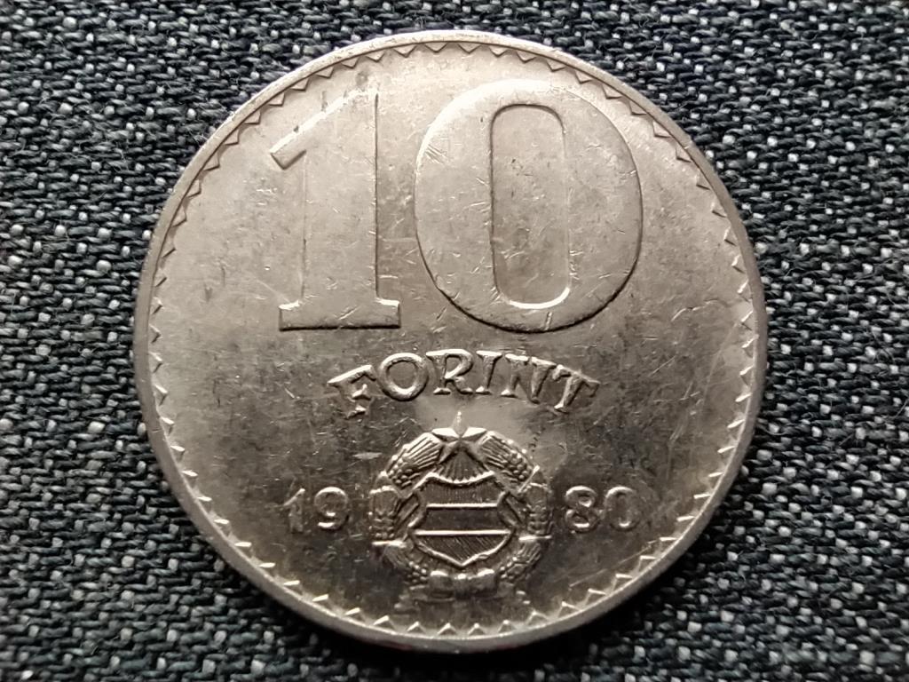 Népköztársaság (1949-1989) 10 Forint 1980 BP BU