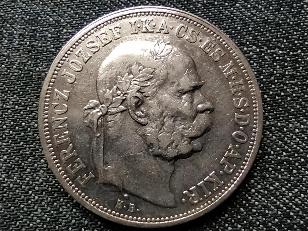 Ferenc József (1848-1916) .900 ezüst 5 Korona 1908 KB