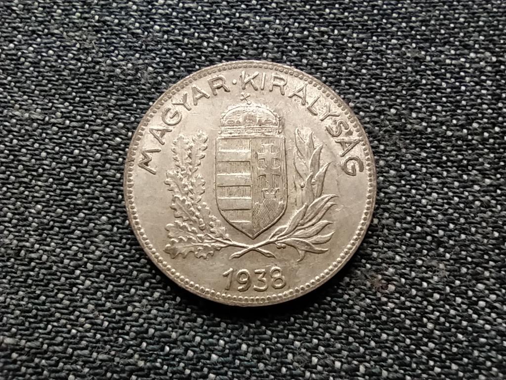 Háború előtti .640 ezüst 1 Pengő 1938 BP
