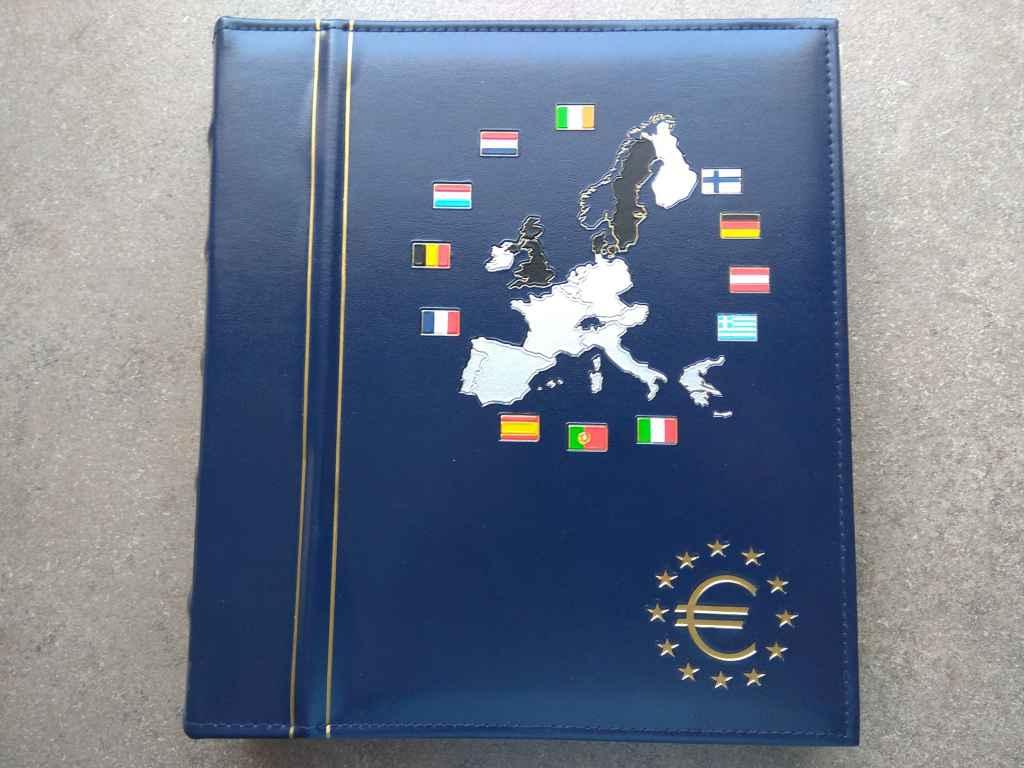 12 ország Euro érméi exkluzív Leuchtturm albumban