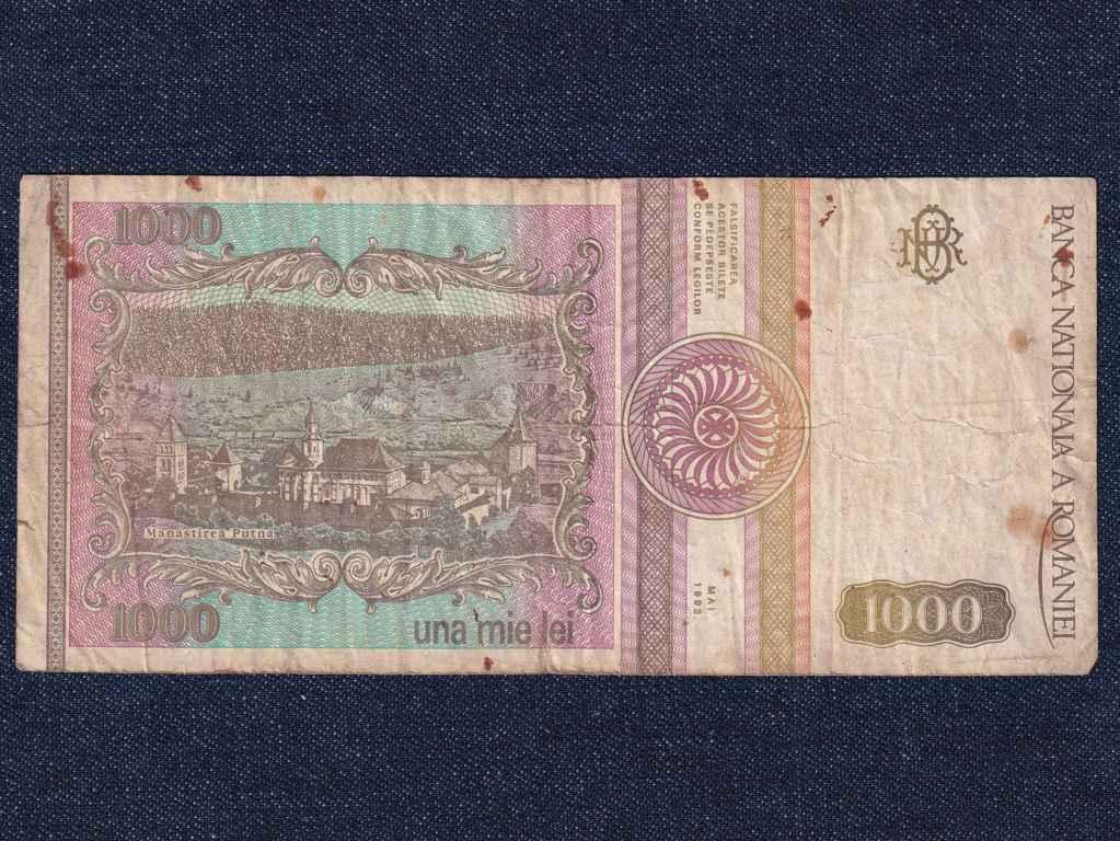 Románia 1000 Lej bankjegy 1993