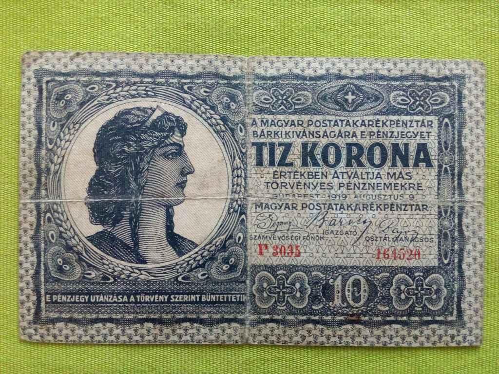 10 Korona 1919