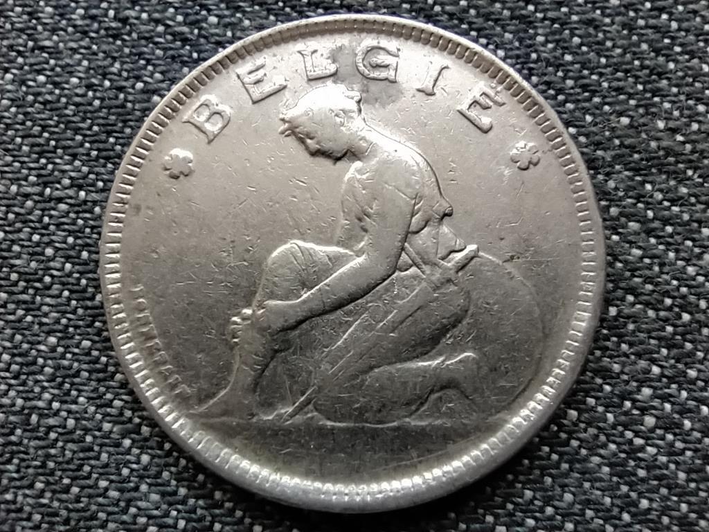 Belgium I. Albert (1909-1934) 2 Frank (holland szöveg) 1924