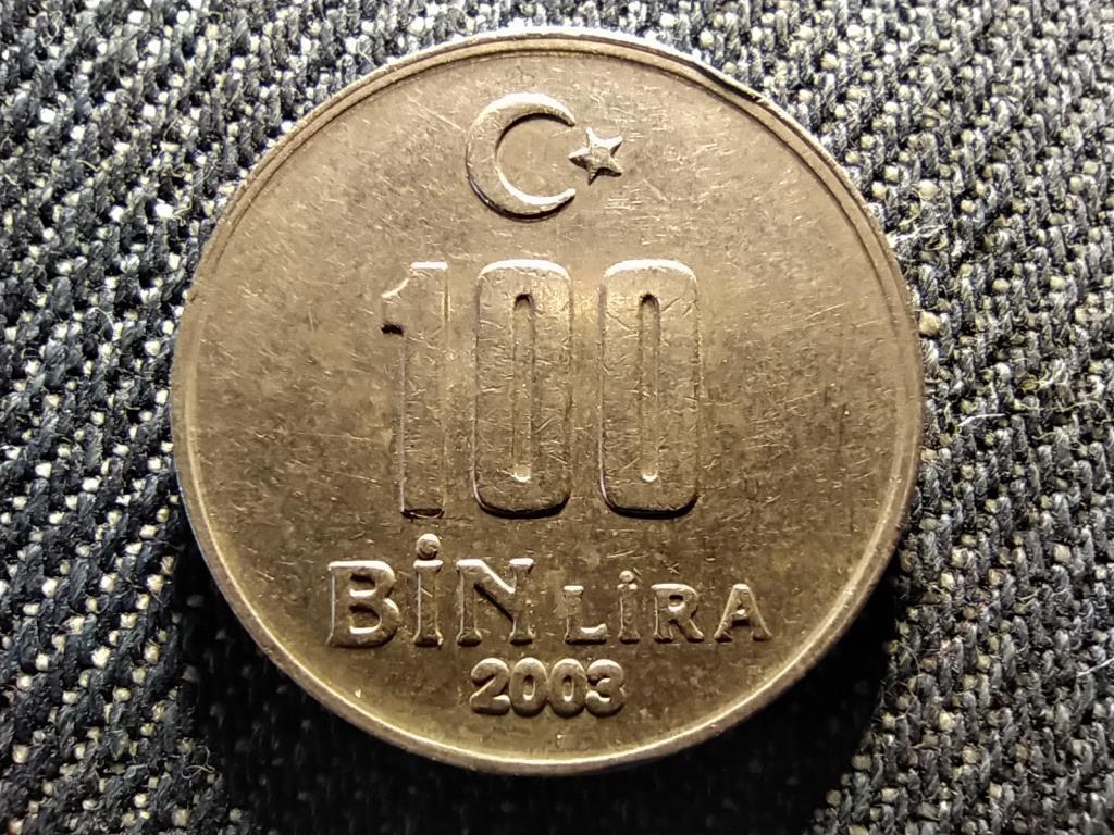 Törökország 100 bin líra 2003