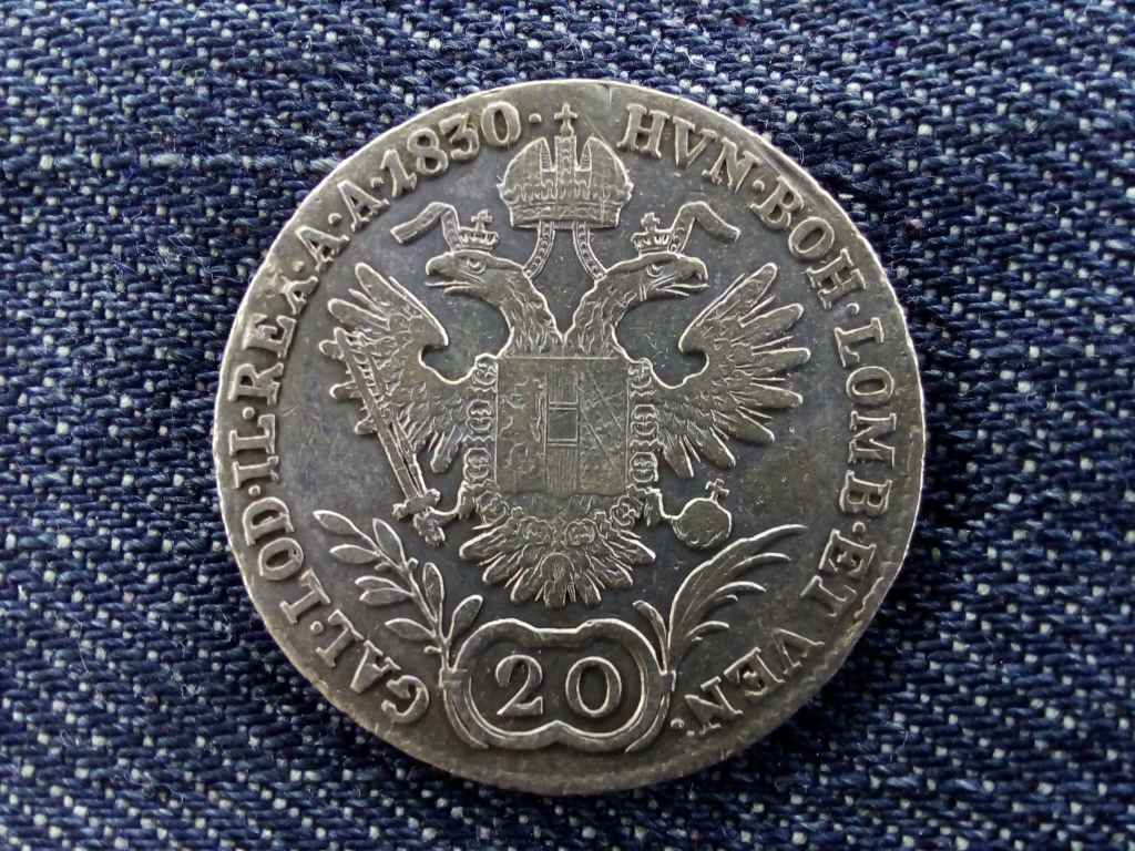 I. Ferenc 20 krajcár 1830 A